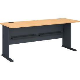 """Bush Furniture 72"""" Desk - Beech - Series A"""