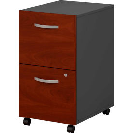 Bush Furniture Two Drawer File Cabinet (Assembled) - Hansen Cherry - Series C