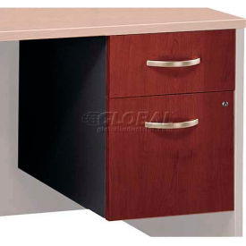Bush Furniture 3/4 File Cabinet (Assembled) - Hansen Cherry - Series C