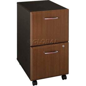 Bush Furniture Two Drawer File (Unassembled) - Walnut - Series A