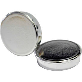 """MasterVision 1"""" Super Magnets Silver 10 ct"""