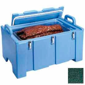 """Cambro 100MPC519 - Food Pan Carrier for 12"""" x 20"""" Food Pans, 18 x 26-3/4 x 15, 40 Quarts, Green"""