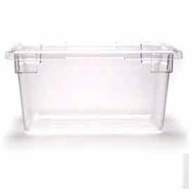Cambro 12189CW135 - Food Storage Container, 12x18x9, 4.75 Gallon Capacity, Clear - Pkg Qty 6