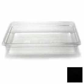 "Cambro 14CW110 - Camwear Food Pan, Plastic, Full Size, 4"" Deep, Polycarbonate, Black, NSF - Pkg Qty 6"