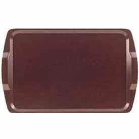 "Cambro 1525RST384 - Room Service Tray, Rectangular, 14"" x 21"", Low Profile, Dishwasher Safe, Venge - Pkg Qty 12"