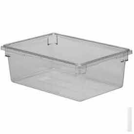 """Cambro 182612CW135 - Food Storage Container, 18"""" x 26""""x12, 17 Gallon Capacity, Clear - Pkg Qty 4"""