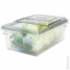 Cambro 18268CLRKIT135 - Colander Kit, Colander, 18 x 26 x 9 Food Storage Box, Sliding Lid, Clear