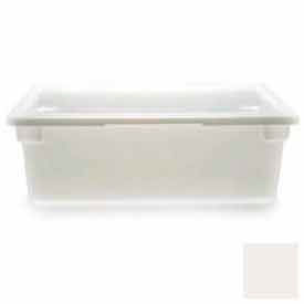 """Cambro 18269P148 - Food Storage Container, 18"""" x 26""""x9, 13 Gallon Capacity, Natural White - Pkg Qty 6"""