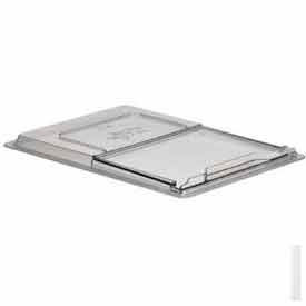 """Cambro 1826SCCW135 - Camwear Sliding Lid For Food Storage Container, 18"""" x 26"""", Clear Polycarbonate - Pkg Qty 6"""