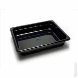 "Cambro 22CW135 - Camwear Food Pan, 1/2 Size, 2-1/2"" Deep, Polycarbonate, Clear, NSF - Pkg Qty 6"