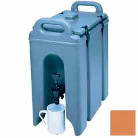 Cambro 250LCD157 - Camtainer Beverage Carrier, Insulated Plastic, 2-1/2 Gal, 16-1/2x9x18-3/8, Beige