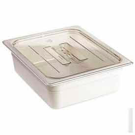 Cambro 30CWCH135 - Camwear Food Pan Cover, 1/3 Size, With Handle, Polycarbonate, Clear, NSF - Pkg Qty 6