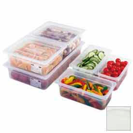 Cambro 30PPCHN190 - Food Pan Cover, 1/3 Size, Notched, With Handle, Translucent Polypropylene, NSF - Pkg Qty 6