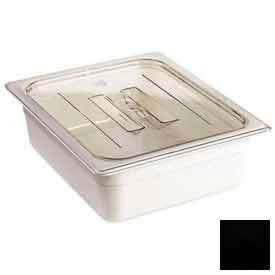 Cambro 40CWCH110 - Camwear Food Pan Cover, 1/4 Size, With Handle, Polycarbonate, Black, NSF - Pkg Qty 6