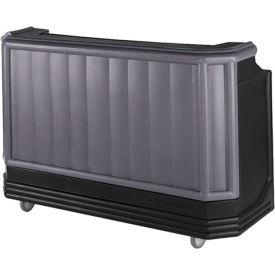 Cambro BAR730420 - Large Size, Bottle Service, Standard Decor, Granite Gray w/Black Base