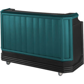 Cambro BAR730CP421 - Large Size Partially Equipped for Soda Service, Granite Green w/Black Base