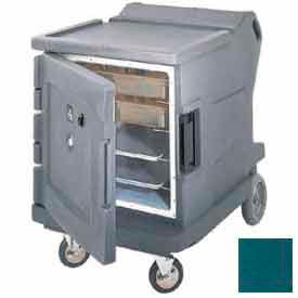 Cambro CMBHC1826LC192 - Hot/Cold Electric Cart Low Profile Granite Green