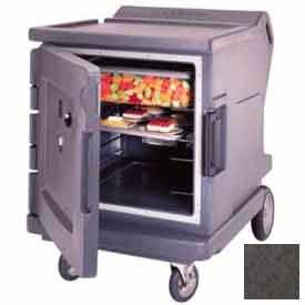 Cambro CMBHC1826LF194 - Hot/Cold Electric Cart Low Profile Granite Sand Celsius