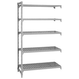 Camshelving® Add-On Unit - 5 Vented Shelves 21x60x72