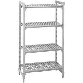 Camshelving® Stationary Starter - 4 Vented Shelves 24x54x64- Pkg Qty 1