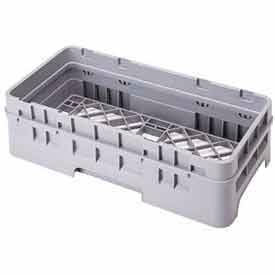 """Cambro HE3151 - Open Extender, Half Size, 19-5/8 x 19-5/8 x 2, Adds 1-5/8"""" To Rack Height, Gray - Pkg Qty 12"""