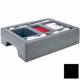 "Cambro LCDCH10110 - Condiment Holder, Fits 1000LCD, 20""D x 16""W x 5""H, Black"