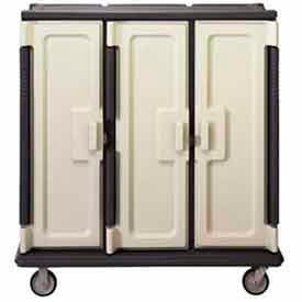 Cambro MDC1411T60194 - Meal Delivery Cart Tall, 3 Doors, 60 x 29-1/4 x 63-5/8, HD Casters, Sand