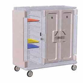 Cambro MDC1418T30191 - Meal Delivery Cart Tall Profile, 3 Doors, 60 x 29-1/4 x 63-5/8, Gray