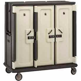 Cambro MDC1520T30192 - Meal Delivery Cart Tall Profile, 3 Doors, 60 x 29-1/4 x 63-5/8, Green