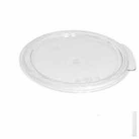 Cambro RFSCWC2135 - Camwear Cover For 2 & 4 Qt. Round Storage Container, Clear, Polycarbonate - Pkg Qty 12