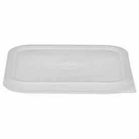 Cambro SFC6SCPP190 - Cover, For Polycarbonate Camwear Camsquare 6 And 8 Qt. Containers, Translucent - Pkg Qty 6