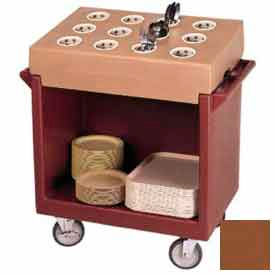 Cambro TDC2029131 - Dish Cart Only / 38-1/8x22-1/4x34-1/4 / Dark Brown