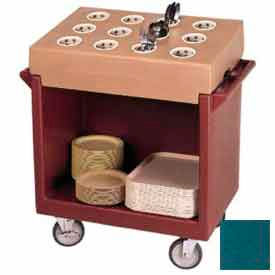 Cambro TDC2029192 - Dish Cart Only / 38-1/8x22-1/4x34-1/4 / Granite Green