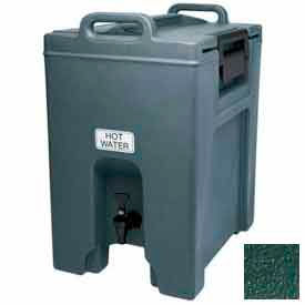 Cambro UC1000519 - Ultra Camtainer Beverage Carrier, Insulated Plastic, 10-1/2 Gal. Capacity, Green