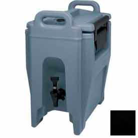 Cambro UC250110 - Ultra Camtainer Beverage Carrier, Insulated Plastic, 2-3/4 Gallon Capacity, Black