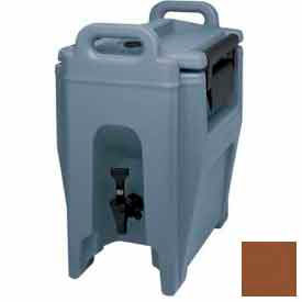 Cambro UC250131 - Ultra Camtainer Beverage Carrier, Insulated Plastic, 2-3/4 Gal. Capacity, Brown