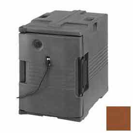 Cambro UPCH400131 - Camcarrier Heated Ultra Pancarrier, Front Loading, 110V, Dark Brown