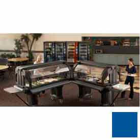 "Cambro VBRHD6186 - Versa Food Bars™Serving Buffet, Cold Food, 72"" x 36"" Navy Blue"