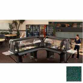"Cambro VBRL5519 - Versa Food Bars™Serving Buffet, Cold Food, 60"" x 29"" (Low), Kentucky Green"