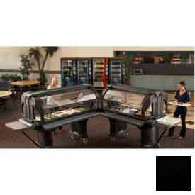 "Cambro VBRTHD5110 - Versa Food Bars Work Table, Cold Food, 60"" x 36"", 6"" Swivel Casters, Black"