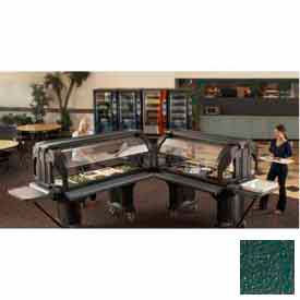 "Cambro VBRTHD5519 - Versa Food Bar Work Table, Cold Food, 60"" x 36"", Kentucky Green"