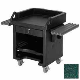 Cambro VCSWR519 - Versa Cash Register Cart Lockable Center Drawer, Kentucky Green, w/Tray Rails