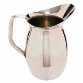 Carlisle 609273 - Bell Pitcher 3 Qt., Stainless Steel