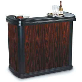 "Carlisle 7550094 - Maximizer Portable Bar 56"", 26-1/2"", 48-1/2"", Cherry Wood"
