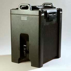 Carlisle XT1000003 - Cateraid Beverage Server, 10 Gallon, Insulated, Wide Sure-Latch™, Black