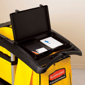 Rubbermaid® Waste Cover/Storage Compartment For High Capacity Cleaning Cart