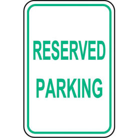 Tapco Traffic Sign - Engineer Grade - Reserved Parking