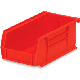 """Akrobins For Racks And Panels - 4-1/8 X7-3/8 X3"""" - Red - Pkg Qty 24"""