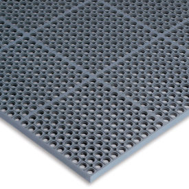 Wearwell Worksafe Light Anti-Fatigue Drainage Mat - 36X60""