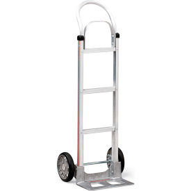 "Magliner Aluminum Hand Trucks - 17-1/4""Wx48""H - 14""Wx7-1/2""D Noseplate - With Frame Extension"